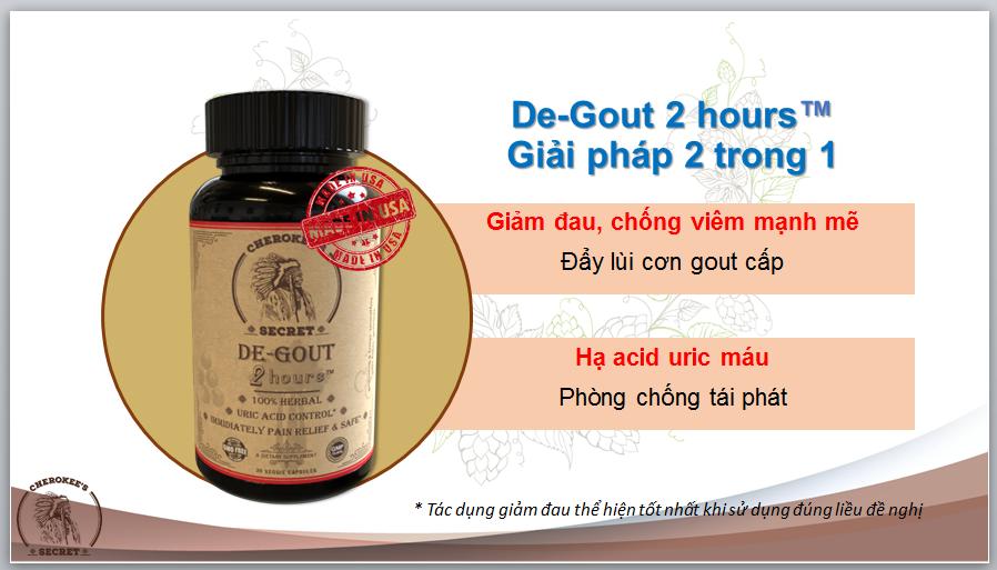 de-gout hiệu quả cao cho bệnh viêm khớp, gout